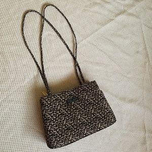 Kate Spade Vintage Cheetah Print Handbag